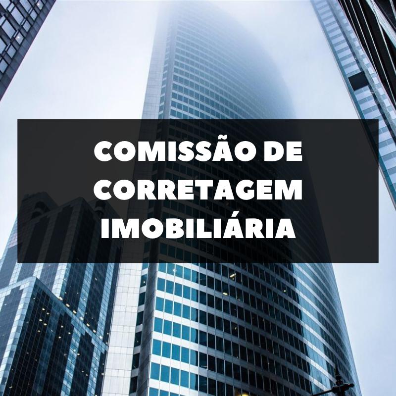 COMISSÃO DE CORRETAGEM IMOBILIÁRIA